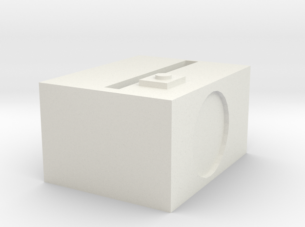 1.3 in White Strong & Flexible: Medium
