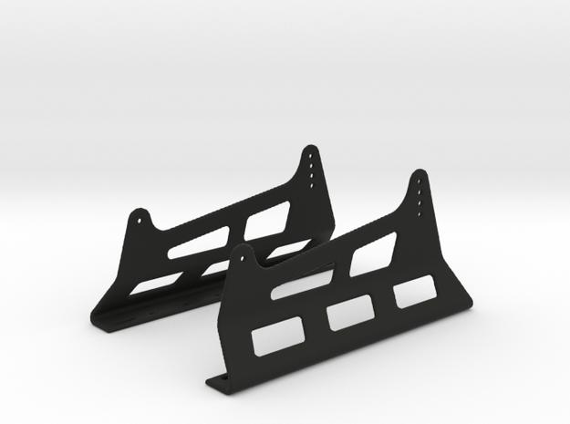 Race Seat Anchoring HM-Type - 1/10 in Black Natural Versatile Plastic