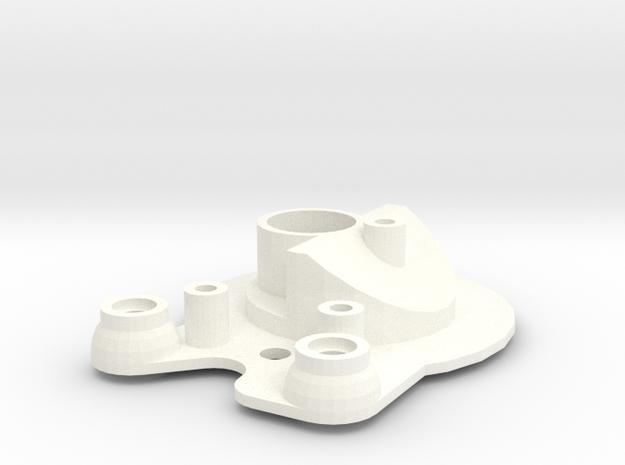 Head light reflector left Adventure D90 Team Raffe in White Processed Versatile Plastic
