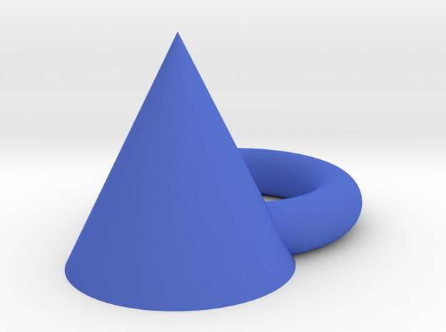 Blue angle in Blue Strong & Flexible Polished