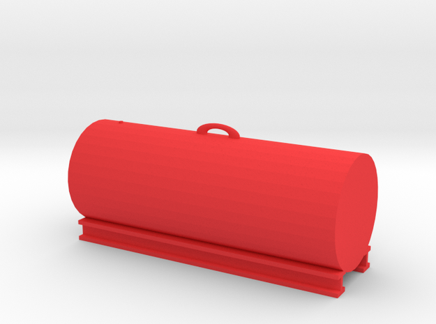1000 Gallon Tank 1:50 Scale in Red Processed Versatile Plastic