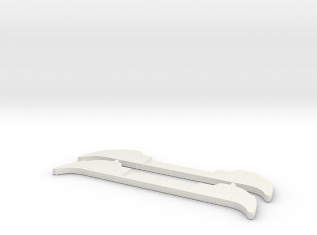 Renfort Mazda 787 MiniZ 2pc in White Strong & Flexible