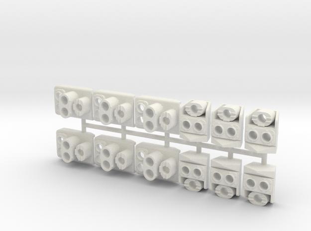 SP Original Pack (G - 1:29) in White Natural Versatile Plastic