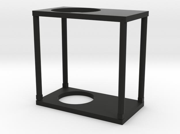 Modeling cup holder in Black Natural Versatile Plastic