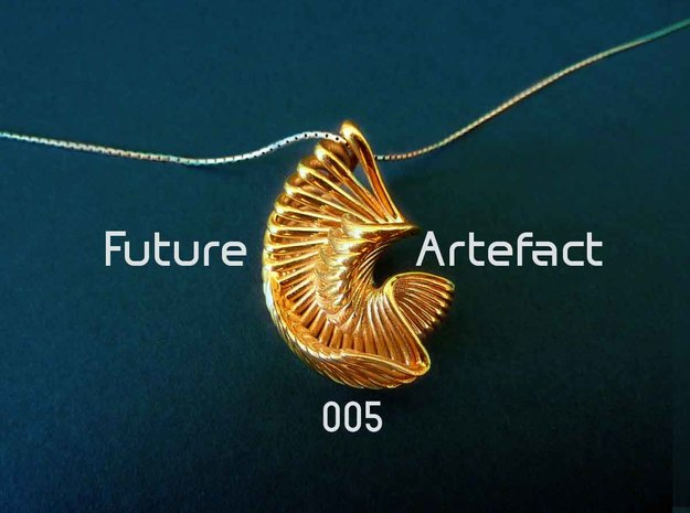 Future Artefact 005 in Polished Brass