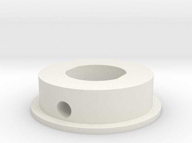 """Blade Inserts - 1"""" Thin Wall in White Natural Versatile Plastic"""
