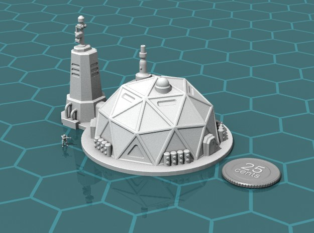 Prefab Dome in White Strong & Flexible