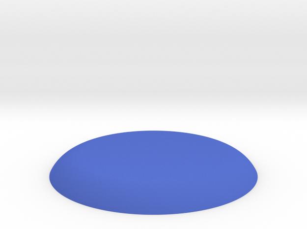 杯蓋 in Blue Strong & Flexible Polished: Medium