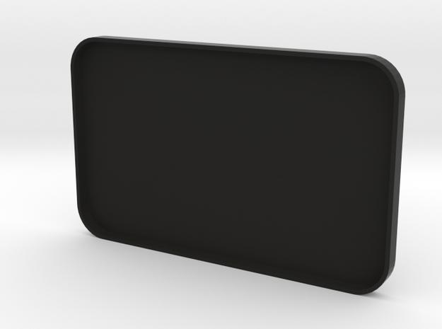 Top cover for salt spreader in Black Natural Versatile Plastic