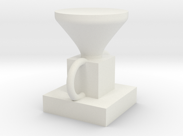 Home-made  Olympic  limited edition  trophy in White Natural Versatile Plastic