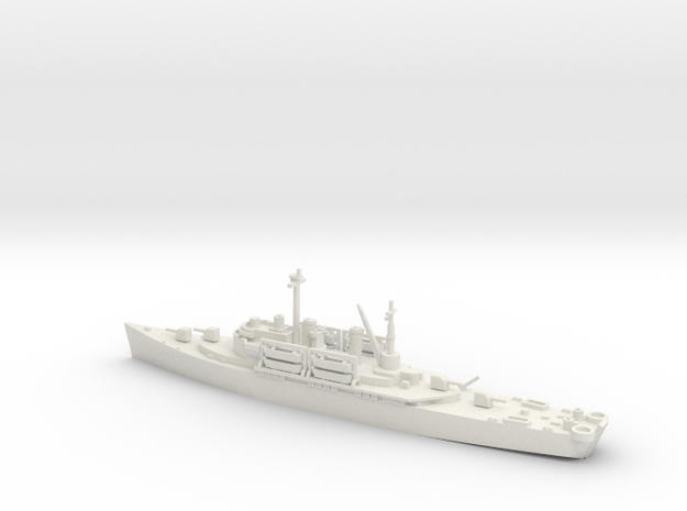 1/600 Scale USS Catskill Class in White Strong & Flexible