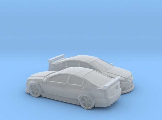 1/220 2X Holden Caprice Racer in Smooth Fine Detail Plastic