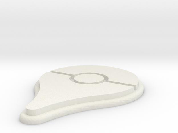 Pokemon Go Pin Mini-Magnet in White Strong & Flexible