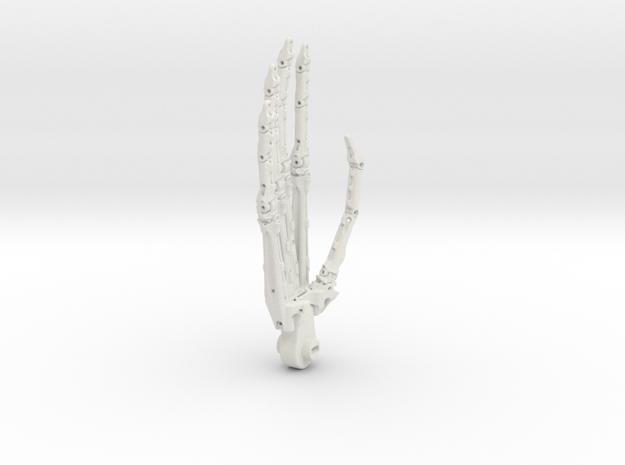 Hand-all in White Natural Versatile Plastic