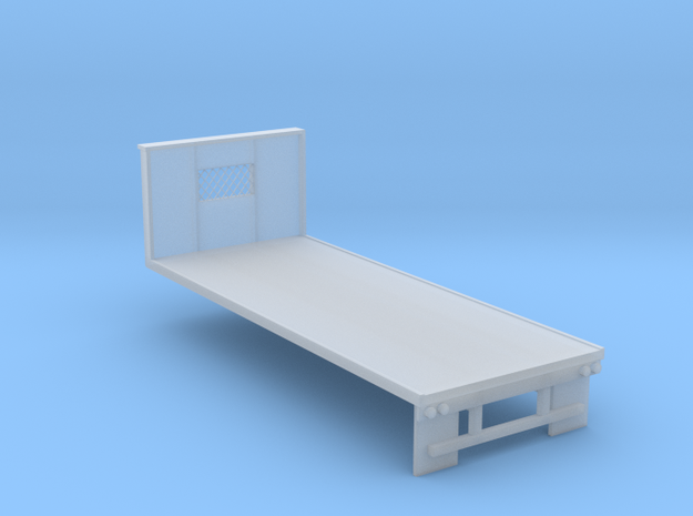N-scale 20' Flatbed in Smoothest Fine Detail Plastic