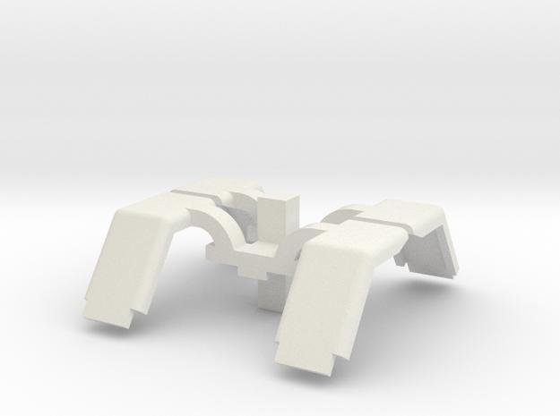 Front fenders in White Natural Versatile Plastic