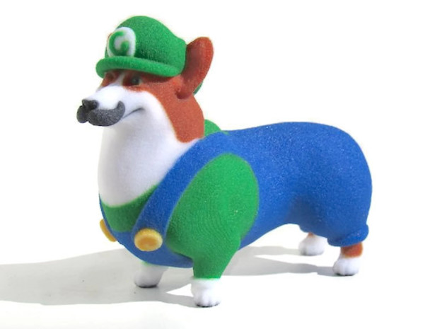 Corgigi (Luigi Corgi)  in Full Color Sandstone