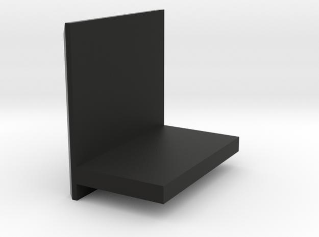 Mobile  storage rack in Black Natural Versatile Plastic