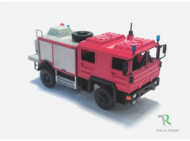 H0 1:87 TroLF in Smooth Fine Detail Plastic