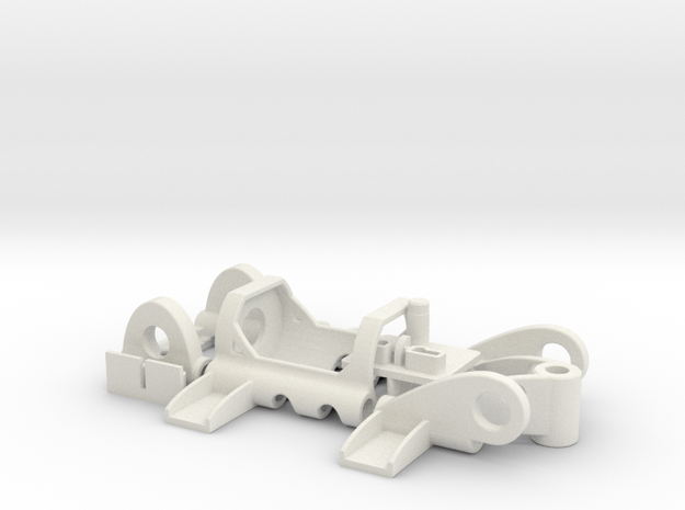 PDU050mO in White Natural Versatile Plastic