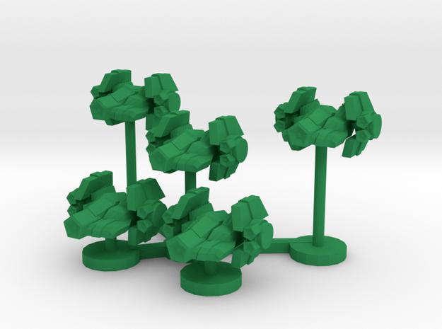 Colour Confederation Lancer Wing in Green Processed Versatile Plastic