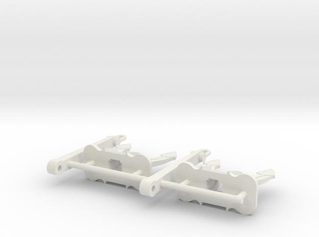 SPEK Anker 3300 kg (2pcs) in White Natural Versatile Plastic