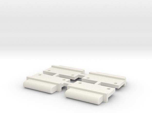 FixAV Mosler MiniZ 4pc in White Natural Versatile Plastic