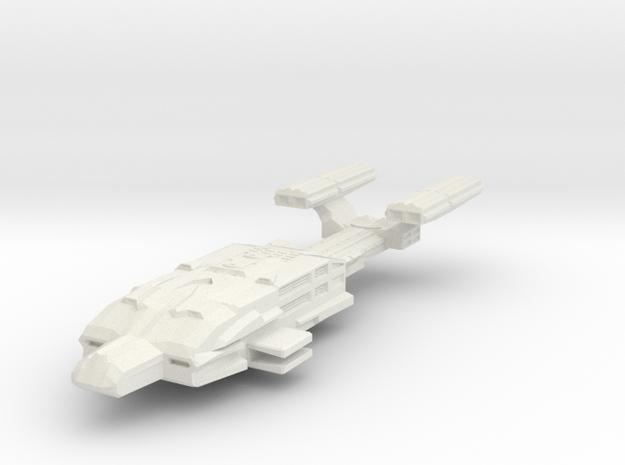 Lt Destroyer in White Natural Versatile Plastic