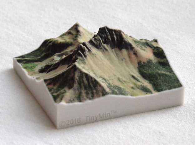 Three Fingered Jack, Oregon, USA, 1:25000 in Full Color Sandstone