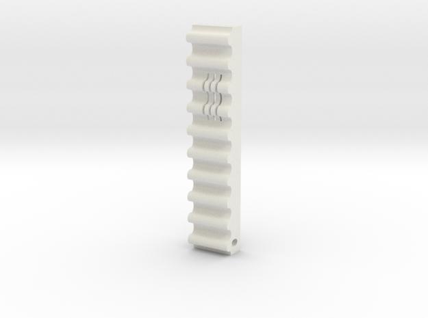 Yona 1 in White Natural Versatile Plastic