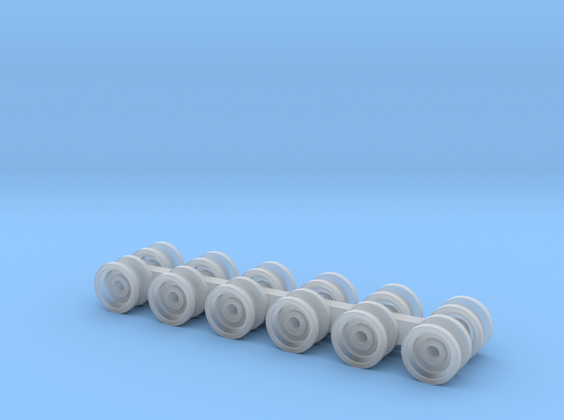 CablePulley in Smooth Fine Detail Plastic