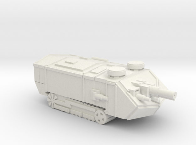 Saint Assault Tank in White Natural Versatile Plastic