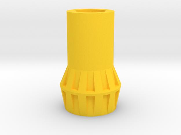 PRHI Jeeg/Karza/Force Commander Connector in Yellow Processed Versatile Plastic