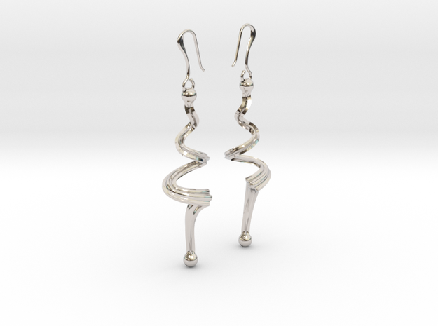 N. 18 bis in Rhodium Plated