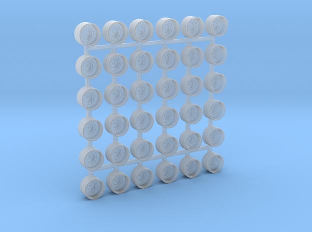 1/600 Scale Oerlikon Tubs (Stepped Bottom) x36