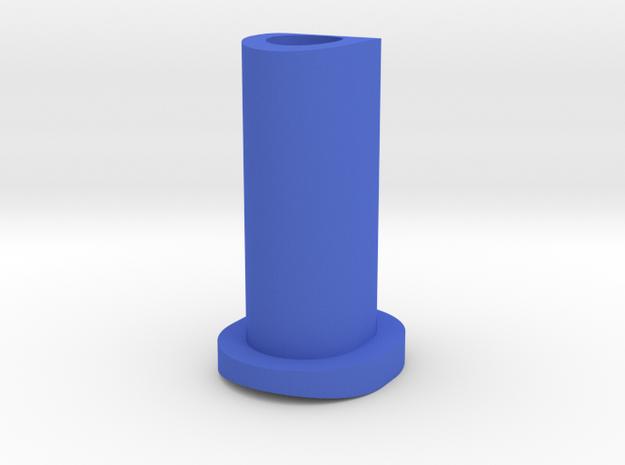 GF5 Minus 5 Caster Insert (Blue) in Blue Processed Versatile Plastic