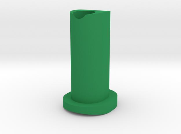 GF5 Minus 15 Caster Insert in Green Processed Versatile Plastic