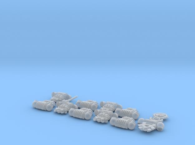 Hydra Legion- Gen4:PAC x10/squad 1 in Smooth Fine Detail Plastic