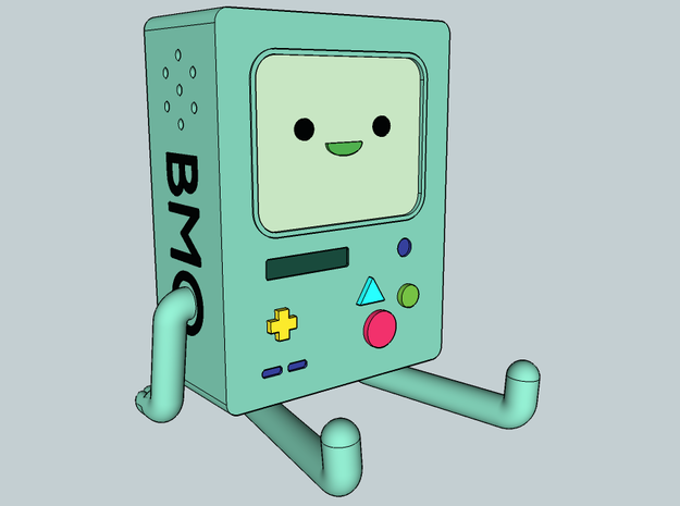 BMO Lamp in Color 3d printed BMO