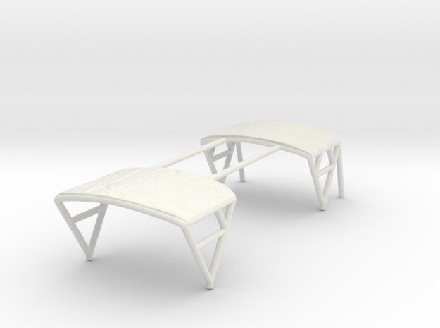 1/87 assault-boat-canopy in White Natural Versatile Plastic