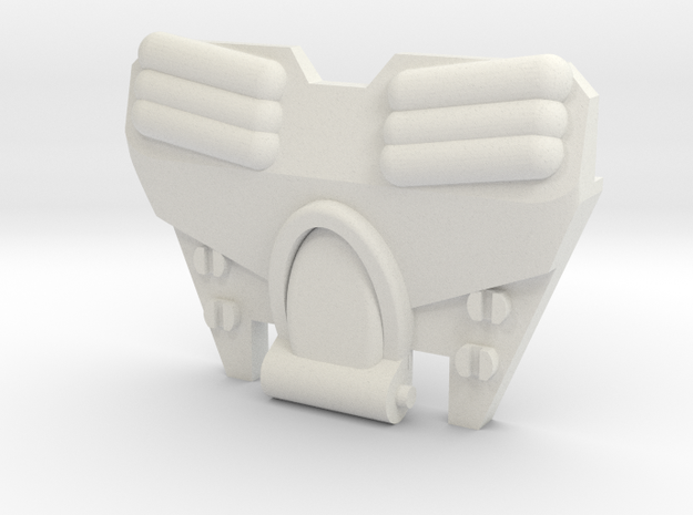 Strika Chest For CW Onslaught in White Natural Versatile Plastic