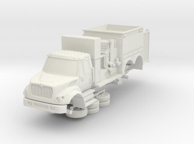 1/64 LA County Foam 10 in White Natural Versatile Plastic