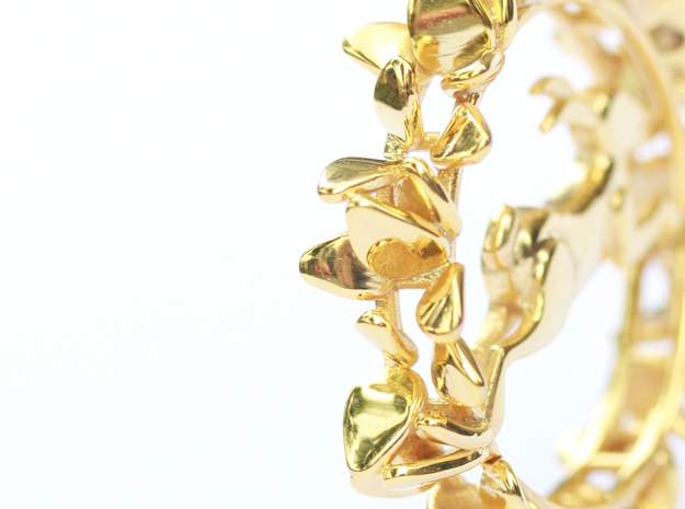 Rabbit Pendant in 14k Gold Plated
