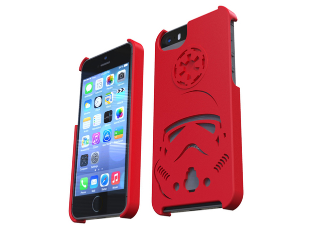 IPhone5S-Casing-Stormtrooper 3d printed