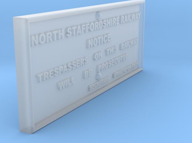 EP725 NSR Trespass Sign