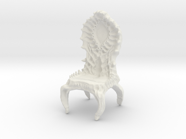 Chair Giger in White Strong & Flexible