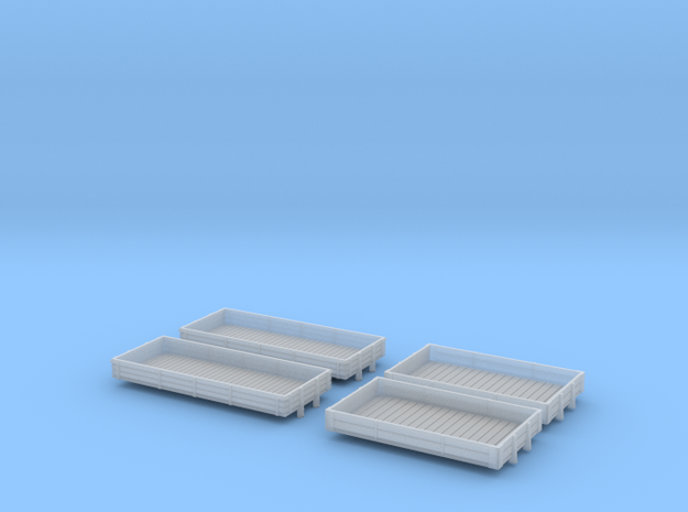 Colwick & Economiser open wagon bodies in Smoothest Fine Detail Plastic