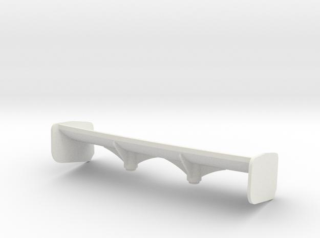 Aileron Mc Laren 12C petit appui Aéro in White Natural Versatile Plastic