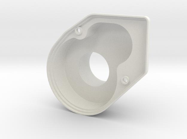 OT-GC-01  Optima Mid Spur Gear Cover in White Natural Versatile Plastic