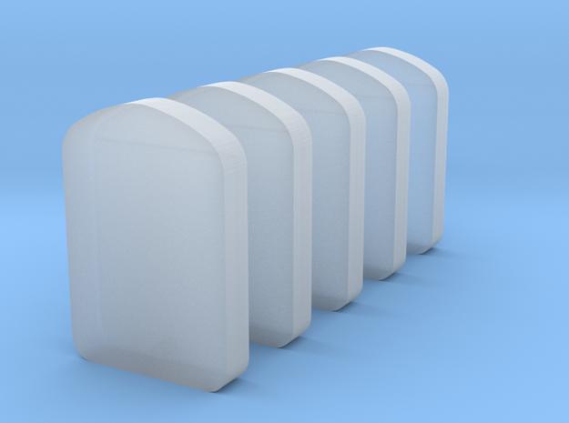 Kühlergrill 5x in Smooth Fine Detail Plastic
